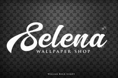 Willian Elegant Bold Script Product Image 5