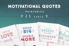 Motivational Quotes for Commercial Use Product Image 2