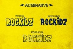 Rockidz // Layered Font Family Product Image 4