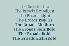 The Broads Font Product Image 6