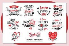 Love ss1 SVG Bundle , Valentine SVG Bundle Product Image 3