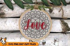 Christmas Ornament SVG - Mandala SVG Bundle Product Image 4