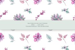Succulents Seamless Patterns Product Image 14