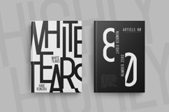Highly - a Simple Condensed Typeface Product Image 3
