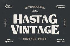 Hastag - Vintage Display Font Product Image 1