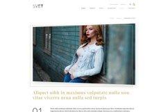 Svet - Fashion E-commerce PSD Template Product Image 4