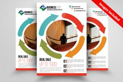 Roofing Contractor Flyer Templates Product Image 1