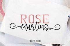 Rose Martino Font Duo Product Image 1