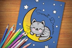 Printable Kitties Coloring Pages for Kids, Vol. 3 Product Image 3
