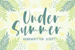Under Summer Product Image 1