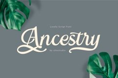 ANCESTRY script Product Image 1