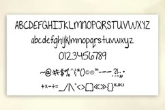To The Point Hand Lettered Sans Serif Font Product Image 2