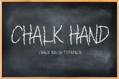 CHALK HAND - chalk font Product Image 1