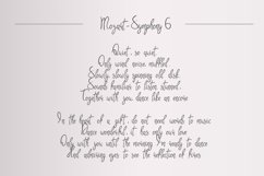 Symphony. Handycrafted font Product Image 4