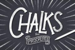 CHALK BRUSHES FOR PROCREATE Product Image 1