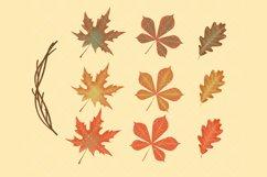 Autumn Flower Clip Art Product Image 3