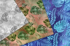 Iridescent Tropical Leaf Patterns Product Image 4