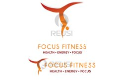 Focus Fitness Logo Template Product Image 3