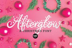 CHRISTMAS FONT BUNDLE - 4 Hand Lettered Christmas Fonts Product Image 4
