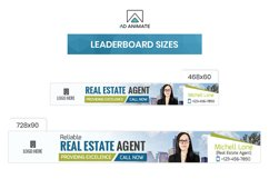 Real Estate Agent Animated Ad Banner Template - RE002 Product Image 4