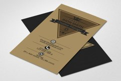 Retro Business Cards Product Image 1