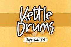 Web Font Kettledrums - Handrawn Font Product Image 1