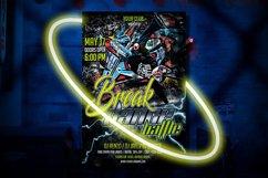BREAK DANCE BATTLE |Break Dance Flyer | Photoshop Template Product Image 2