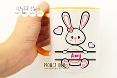 Split Bunny Rabbits, Easter SVG / DXF / EPS / PNG files Product Image 5