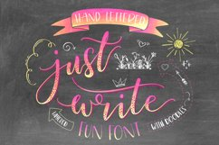 Just Write layered font Product Image 1