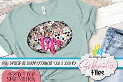 Nurse Life T-shirt 300 DPI PNG in 3000 x 4000 pixels Product Image 1