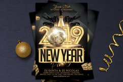 New Year Party Flyer Product Image 2