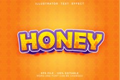 honey text effect editable Product Image 1