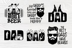 Fathers Day Svg, Beard Svg, Dad Signs, Beer Svg, Bbq Svg Product Image 4