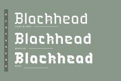 Blackhead Typeface | Font Product Image 2
