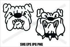 Bulldog Head - PNG SVG EPS PNG Product Image 1