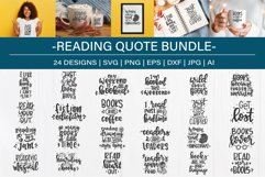 Reading SVG Bundle design set| Book lover SVG Product Image 6