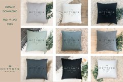 Pillow mockup bundle in PSD and JPG | Sublimation blanks Product Image 2