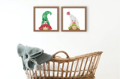 Christmas Clipart, Christmas Gnomes, Gnome Clipart Product Image 5