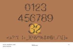Garden floral romantic font Product Image 4