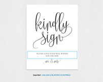 Guest book sign TOS_37 Product Image 3