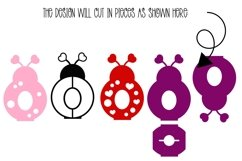 Love bug, Lady bird Easter egg holder design SVG / DXF / EPS Product Image 2