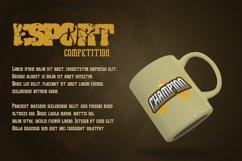 Legionaire - Esport Font Product Image 3