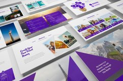 Travel Agency Keynote Template Product Image 6