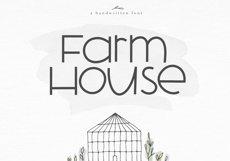 Farmhouse - A Bold Handwritten Font Product Image 1