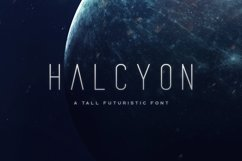 Halcyon Typeface Product Image 1