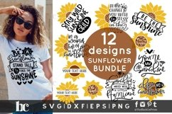 Sunflower SVG Bundle  Sunflower Bundle SVG   Sunflower svg Product Image 4
