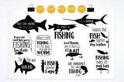 Fishing svg bundle cutting files svg, dxf, pdf, eps, png Product Image 2