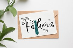 "Father's Day Greeting Card, Printable, 5""x7"" Folded Card Product Image 2"