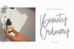 Objectives SVG Brush Font Product Image 6