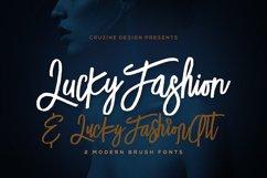 Lucky Fashion Brush Font Product Image 1